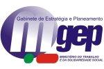 Logotipo Gabinete de Estratégia e Planeamento
