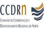 Logotipo Comissão de Coordenação e Desenvolvimento Regional do Norte