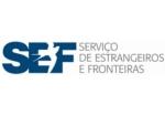Logotipo Serviço de Estrangeiros e Fronteiras