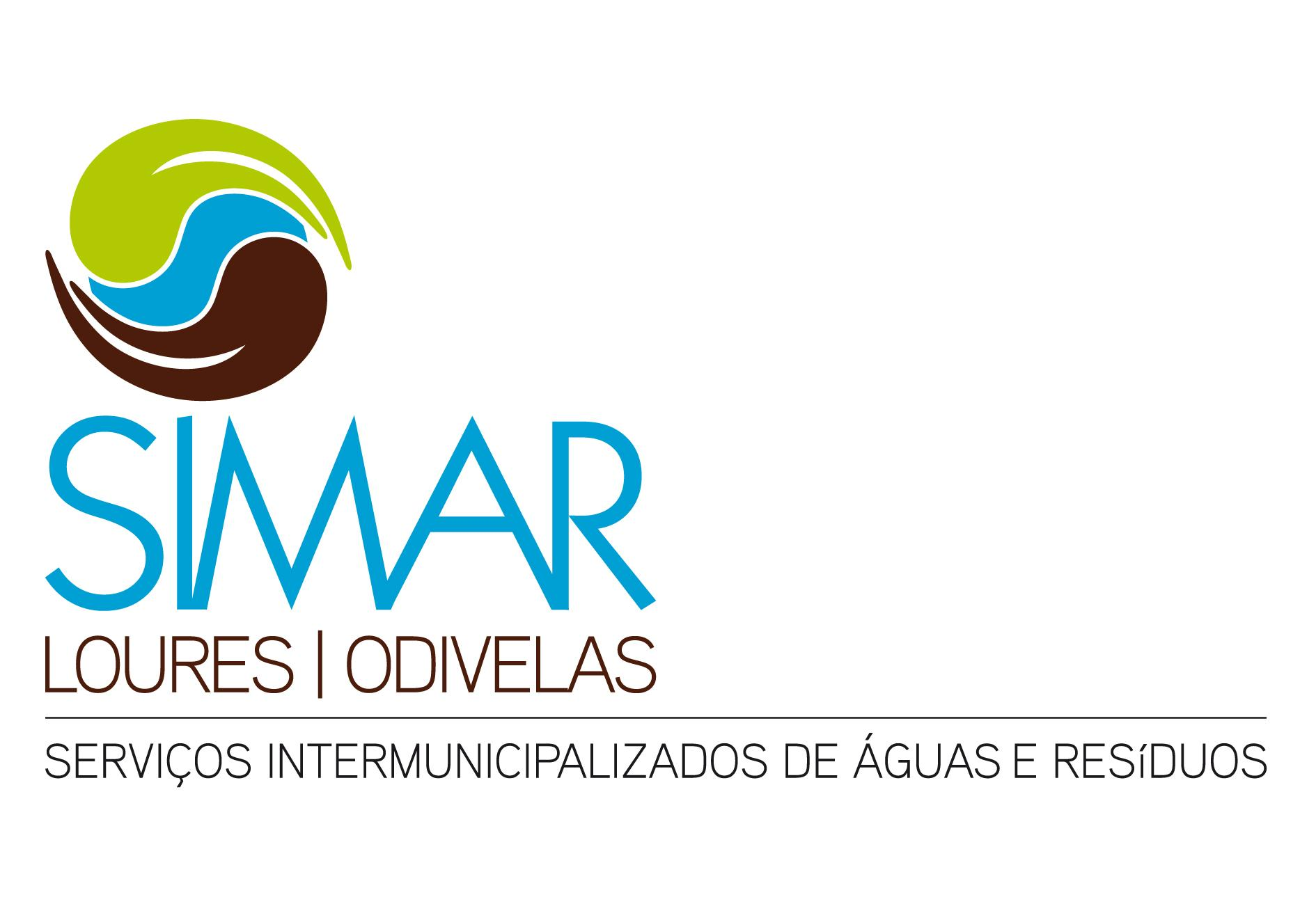 Logotipo SIMAR - Serviços Intermunicipalizados de Águas e Resíduos de Loures e Odivelas