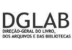 Logotipo Direção-Geral do Livro, dos Arquivos e das Bibliotecas