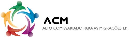 Logotipo Alto Comissariado para as Migrações