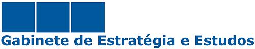 Logotipo Gabinete de Estratégia e Estudos