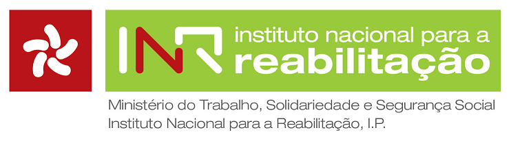 Logotipo Biblioteca do Instituto Nacional para a Reabilitação, IP
