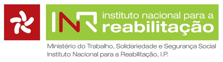 Logotipo Instituto Nacional para a Reabilitação, IP
