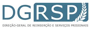 Logotipo Direção-Geral de Reinserção e Serviços Prisionais
