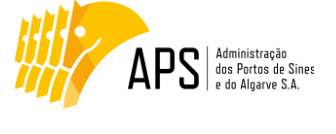 Logotipo Administração dos Portos de Sines e Algarve