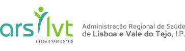 Logotipo Administração Regional de Saúde de Lisboa e Vale do Tejo, I.P.