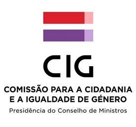 Logotipo Comissão para a Cidadania e a Igualdade de Género