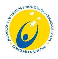 Logotipo Comissão Nacional de Proteção das Crianças e Jovens em Risco