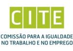 Logotipo Comissão para a Igualdade no Trabalho e no Emprego