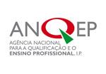 Logotipo Agência Nacional para a Qualificação e o Ensino Profissional