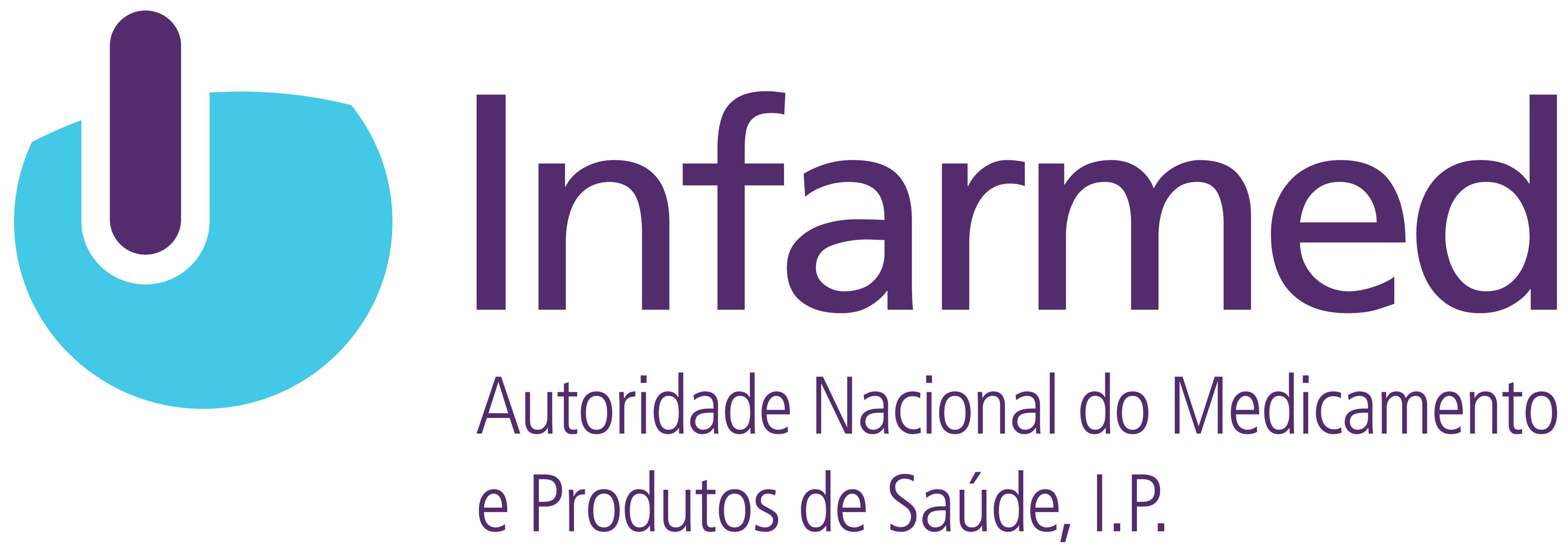 Logotipo INFARMED - Autoridade Nacional do Medicamento e Produtos de Saúde