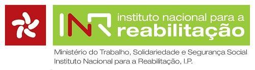 Logotipo Biblioteca do Instituto Nacional para a Reabilitação, IP