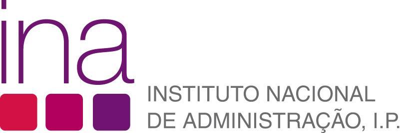 Logotipo INA – Instituto Nacional de Administração, I.P. - ePortugal.gov.pt