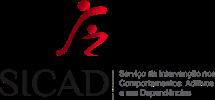 Logotipo Serviço de Intervenção nos Comportamentos Aditivos e nas Dependências