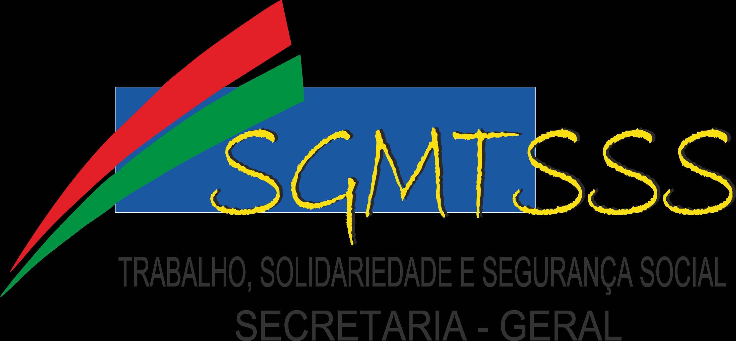 Logotipo Secretaria-Geral do Ministério do Trabalho, Solidariedade e Segurança Social